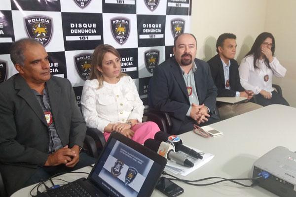 Cúpula da Segurança Pública deu detalhes sobre o crime