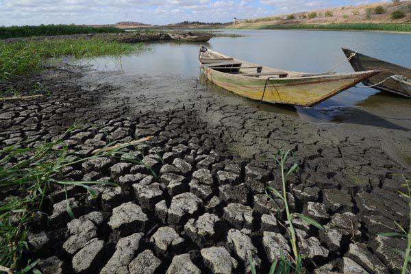 O açude Itans, em Caicó, está na iminência de secar completamente. O volume de água do reservatório está em 1,30 % da capacidade