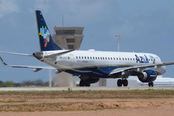 Azul é uma das empresas que programaram voos para Natal