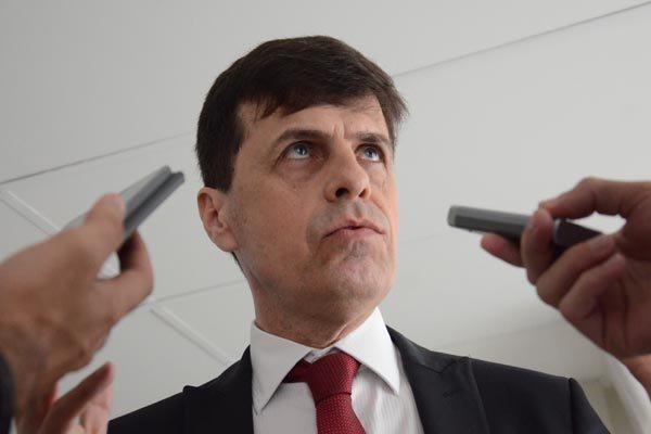 Secretário de Planejamento, Gustavo Nogueira tenta reduzir o impacto das frustrações