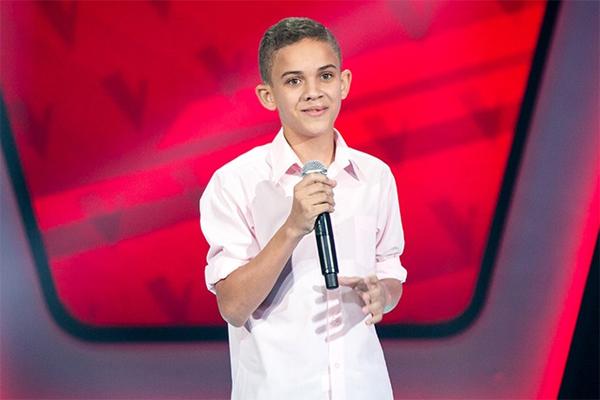 Potiguar Elizaldo Alves, de 13 anos, foi escolhido pela dupla Victor & Léo