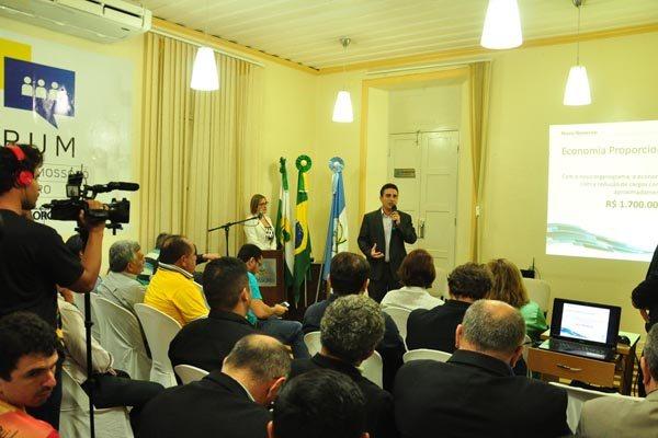 Prefeito de Mossoró, Francisco Silveira Júnior anuncia a reforma