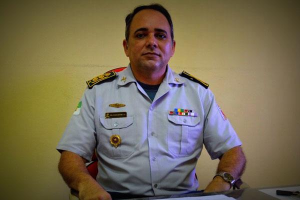 O coronel Dancleiton Pereira Leite é natural de Natal/RN e ingressou na Corporação em 1987