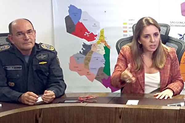 Coronel Ângelo Dantas criticou nota de Kalina Leite