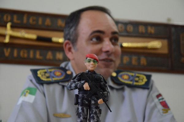 Novo comandante da PM, Cel Dancleiton Pereira, anuncia que concurso deve ofertar 2 mil vagas