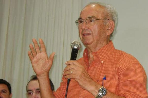 O ex-prefeito Geraldo Gomes tinha 84 anos e morreu em Natal