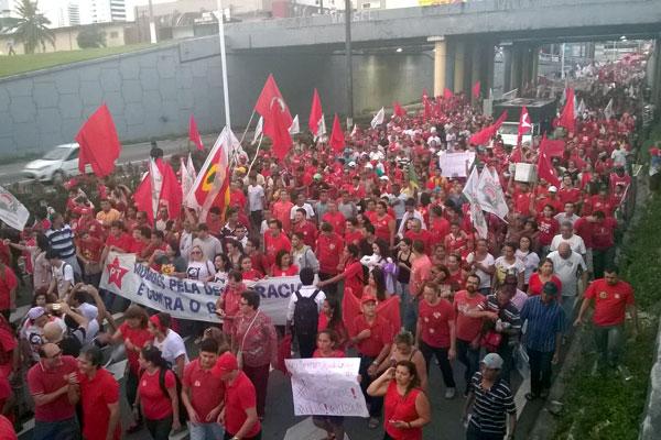 Essa é a manifestação a favor do Governo que reuniu mais gente em Natal