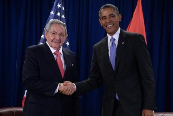 Os presidentes de Cuba, Raúl Castro, e dos Estados Unidos, Barack Obama, se encontrarão em Cuba