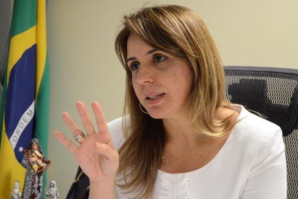 Kalina Leite - Secretária estadual de Segurança Pública e Defesa Social