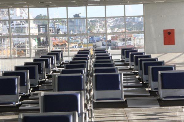 Terminal foi listado entre as obras da Copa, mas não  operou durante a competição