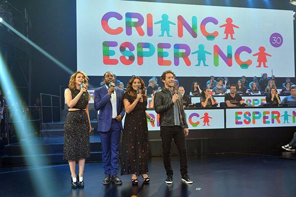 Pontapé inicial da campanha do Criança Esperança será durante o Fantástico deste domingo