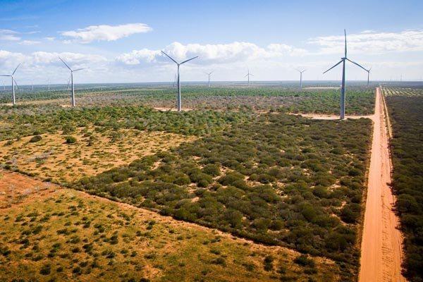 Complexo eólico em Serra do Mel tem potencial para atender a mais de 2 mil famílias com energia