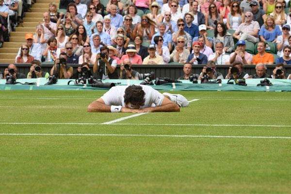 O suíço Roger Federer, terceiro colocado no ranking da ATP, é dono de sete títulos de Wimbledon