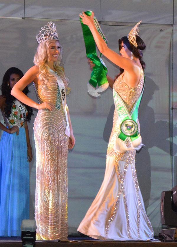 Memória: Cenas do concurso Miss RN 2015 que teve como vencedora Manoela Alves