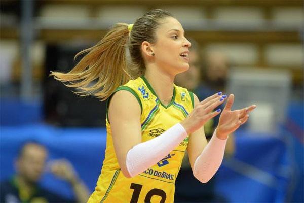 De acordo com a jogadora de voleibol da Seleção Brasileira, Camila Brait, em 2021 os atletas terão condições de se preparar melhor
