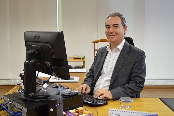 José Furian Filho, vice-presidente de Logística dos Correios, explica como funcionará o Centro que a empresa implantará no estado para receber e distribuir cargas internacionais a partir de 2017