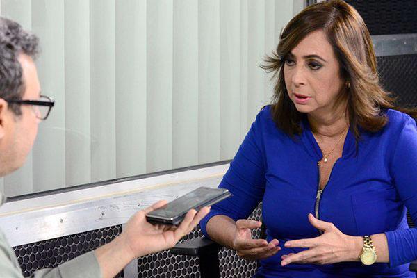 Márcia Maia afirma que vai destacar a experiência ao longo da campanha que pretende levar às ruas