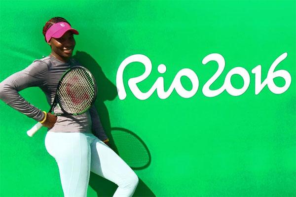 """Venus se disse """"desapontada"""" com as acusações de que teria disputado os Jogos do Rio dopada"""