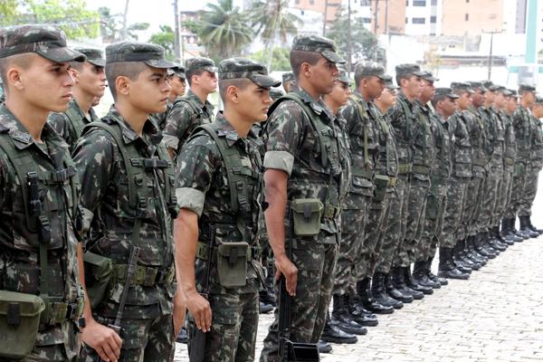 No RN, 1,6 mil militares participam da operação das eleições
