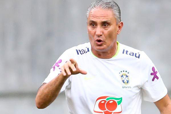 Técnico Tite está preocupado com o comportamento explosivo de Neymar dentro de campo