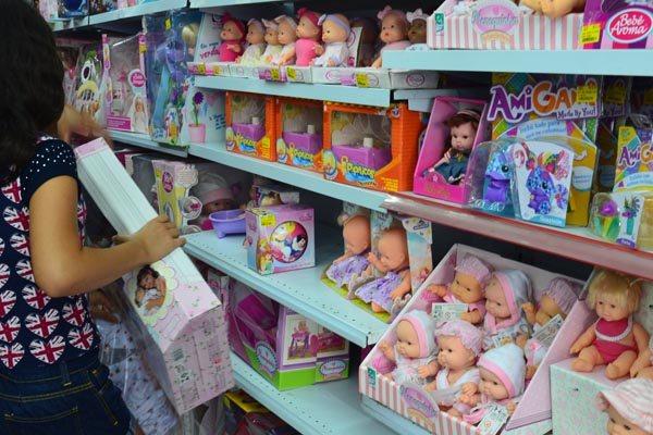 Entre os consumidores que irão às compras em Natal, os brinquedos lideram lista de preferências