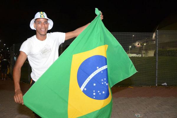 Welinton de Oliveira, vendedor ambulante
