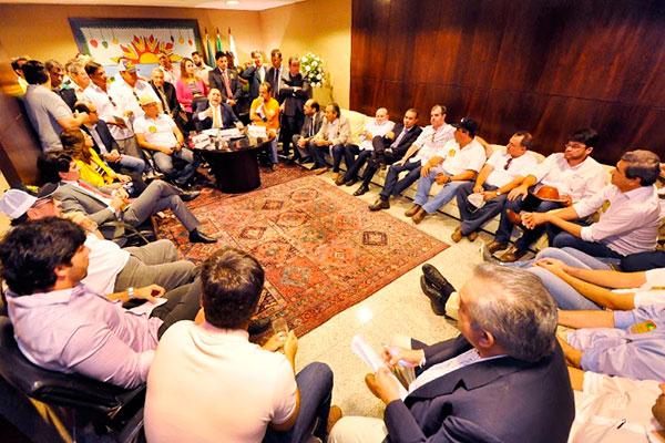 Deputados receberam representantes dos vaqueiros e defensores da vaquejada