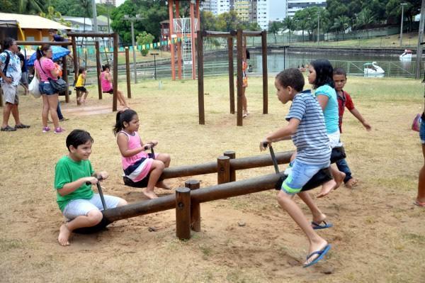 Parque Cidade da Criança está temporariamente fechado