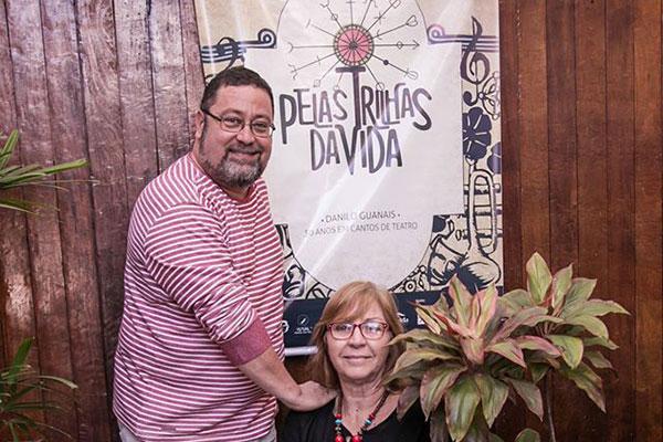 """Danilo Guanais celebra nesta montagem uma parceria com Diana Fontes: """"Foi um desafio costurar esses trabalhos"""""""