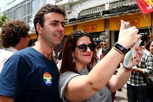 Marcelo Freixo tem 39% dos votos válidos na pesquisa do Ibope