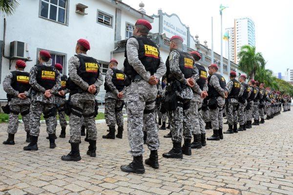 As equipes da Força Nacional passaram a atuar em Parnamirim, Macaíba, Vera Cruz e Ielmo Marinho