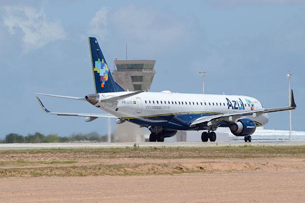 Aeronave ATR 72-600 ofertará 70 assentos no voo Recife/Mossoró
