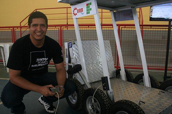 Projeto Crab já participou de competições no Brasil e exterior