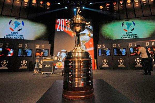 Sorteio dos grupos da Copa Libertadores aconteceu na sede da Conmebol, em Luque, no Paraguai