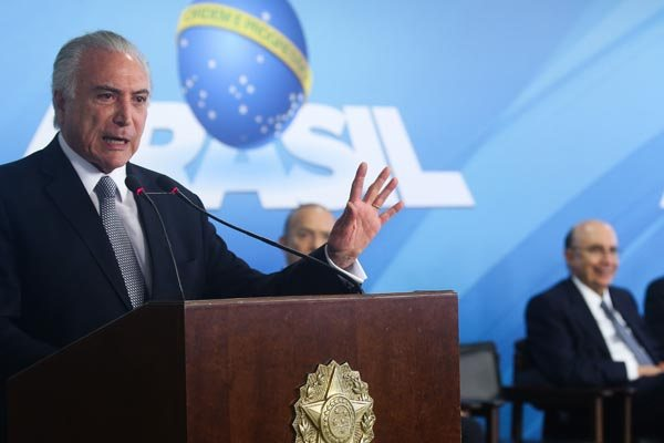 Michel Temer vai a Maceió, onde terá a segunda programação no Nordeste após assumir a Presidência
