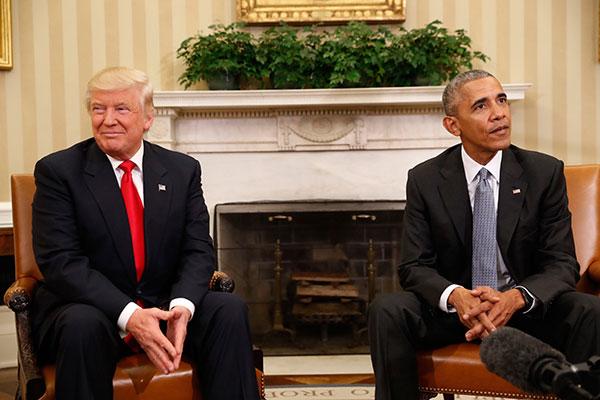 Enquanto Obama deixa governo com popularidade em alta, Trump gera dúvidas nos mercados