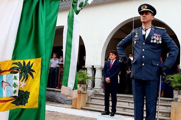 Passagem de comando para o Coronel André Azevedo ocorreu na tarde de ontem (10), em solenidade conduzida pelo governador