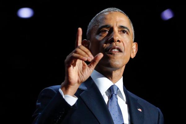 Obama fez seu último discurso como presidente dos Estados Unidos