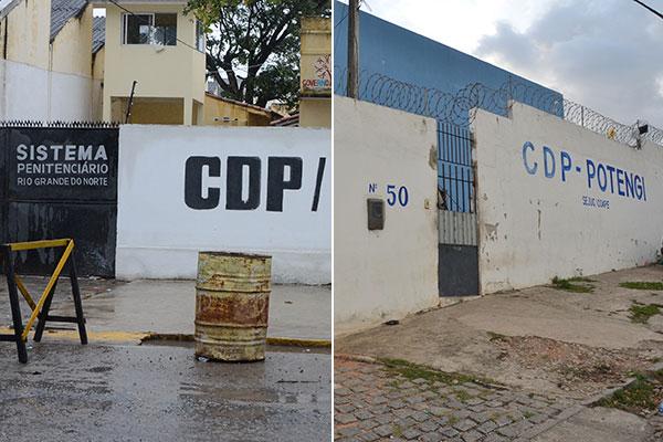 CDPs da Ribeira e Potengi tiveram princípios de motim na manhã desta quarta-feira (11)
