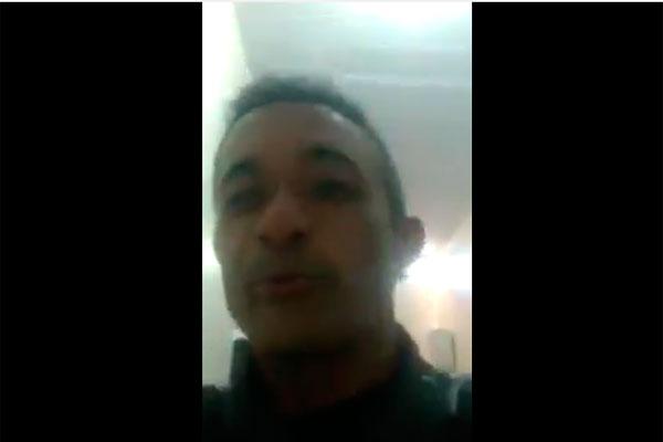Policial Jota Barros divulgou o vídeo de ameaças de integrantes do PCC ao Sindicato do Crime