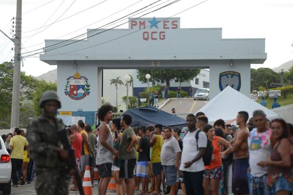 Greve da Polícia Militar de Espírito Santo causou revolta na população
