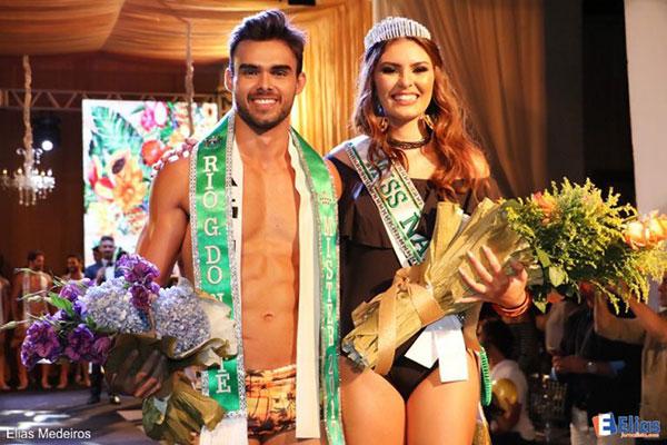 Leonardo Nobre e Sarah Torres, os grandes vencedores da noite
