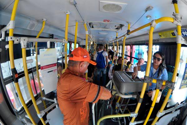 Valor atual da tarifa de ônibus, R$ 2,90, é o terceiro menor entre as capitais brasileiras e o menor entre as capitais do Nordeste
