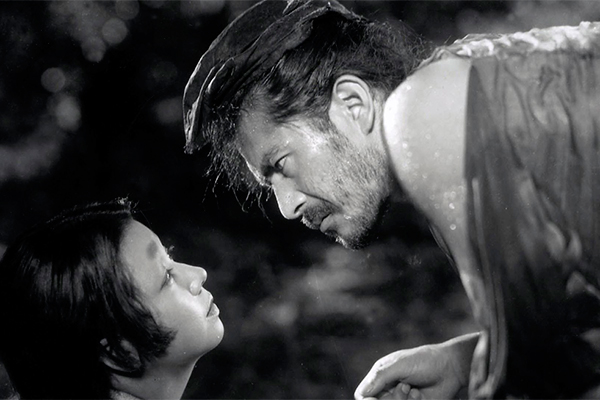 """Um dos filmes de Kurosawa selecionados da mostra é """"Rashomon"""", produção 1951"""
