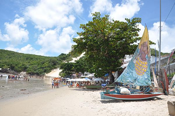 Reordenamento facilitou a circulação na praia de Ponta Negra
