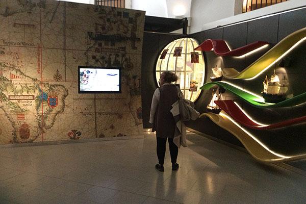 Centro interativo sobre a história da cidade de Lisboa