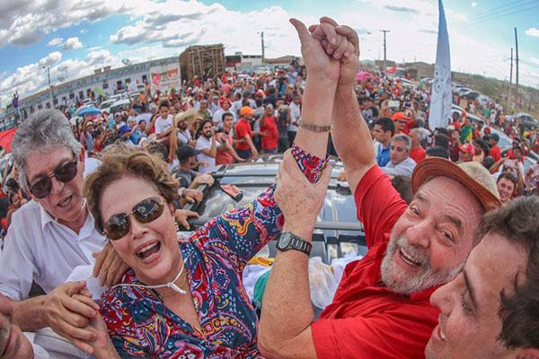 Lula e Dilma participam de inauguração do Eixo Leste da transposição do Rio São Franscisco
