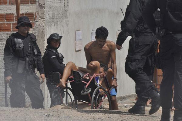 Presos são transferidos para o Pavilhão 5 da Penitenciária Estadual de Alcaçuz