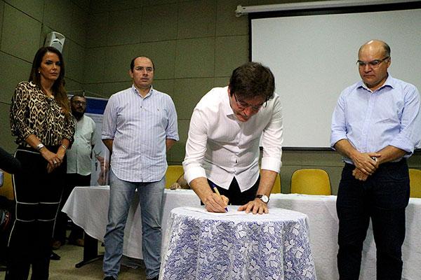 Governador Robinson Faria participou da solenidade em Mossoró