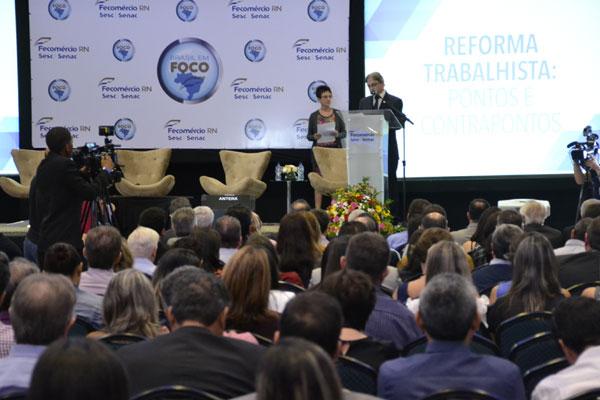 Fecomércio/RN promoveu debate para discutir pontos da reforma trabalhista